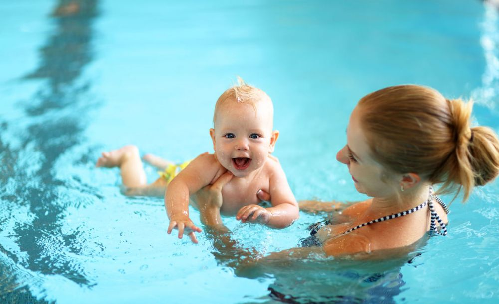 Matroswimming: enjoy swimming with your baby